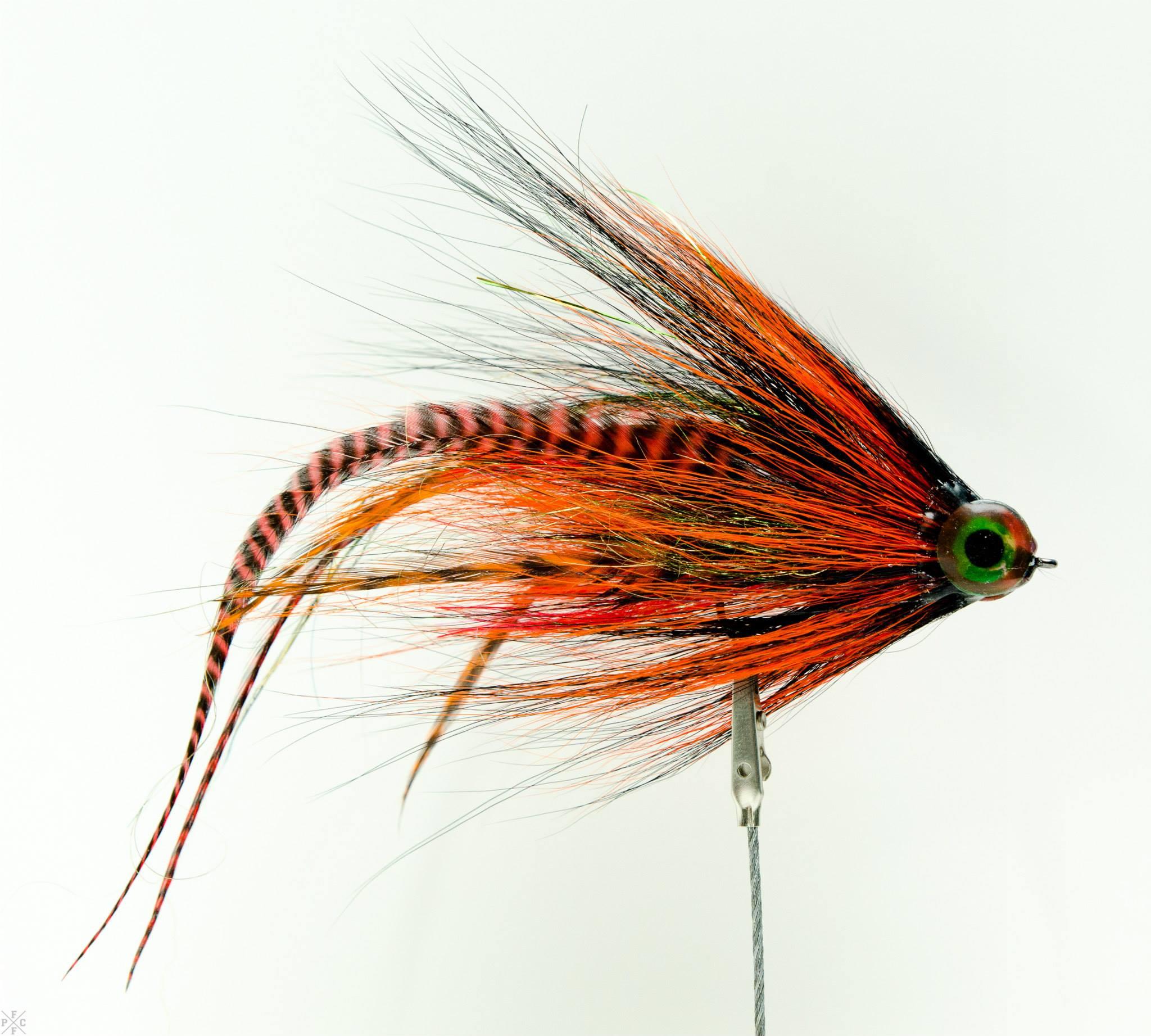 Tiger Muskie Flies Tying