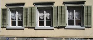 Fenster der Pilgerherberge