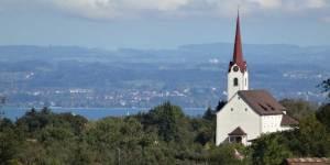 Untereggen zwischen Bodensee und St. Gallen