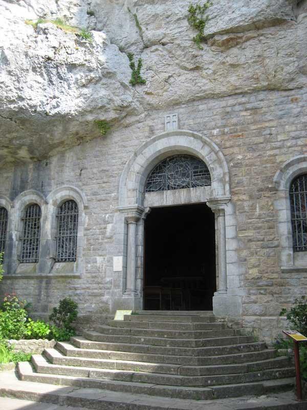 Eingang zur Grotte