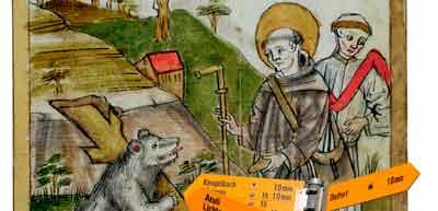 Gallus und der Bär