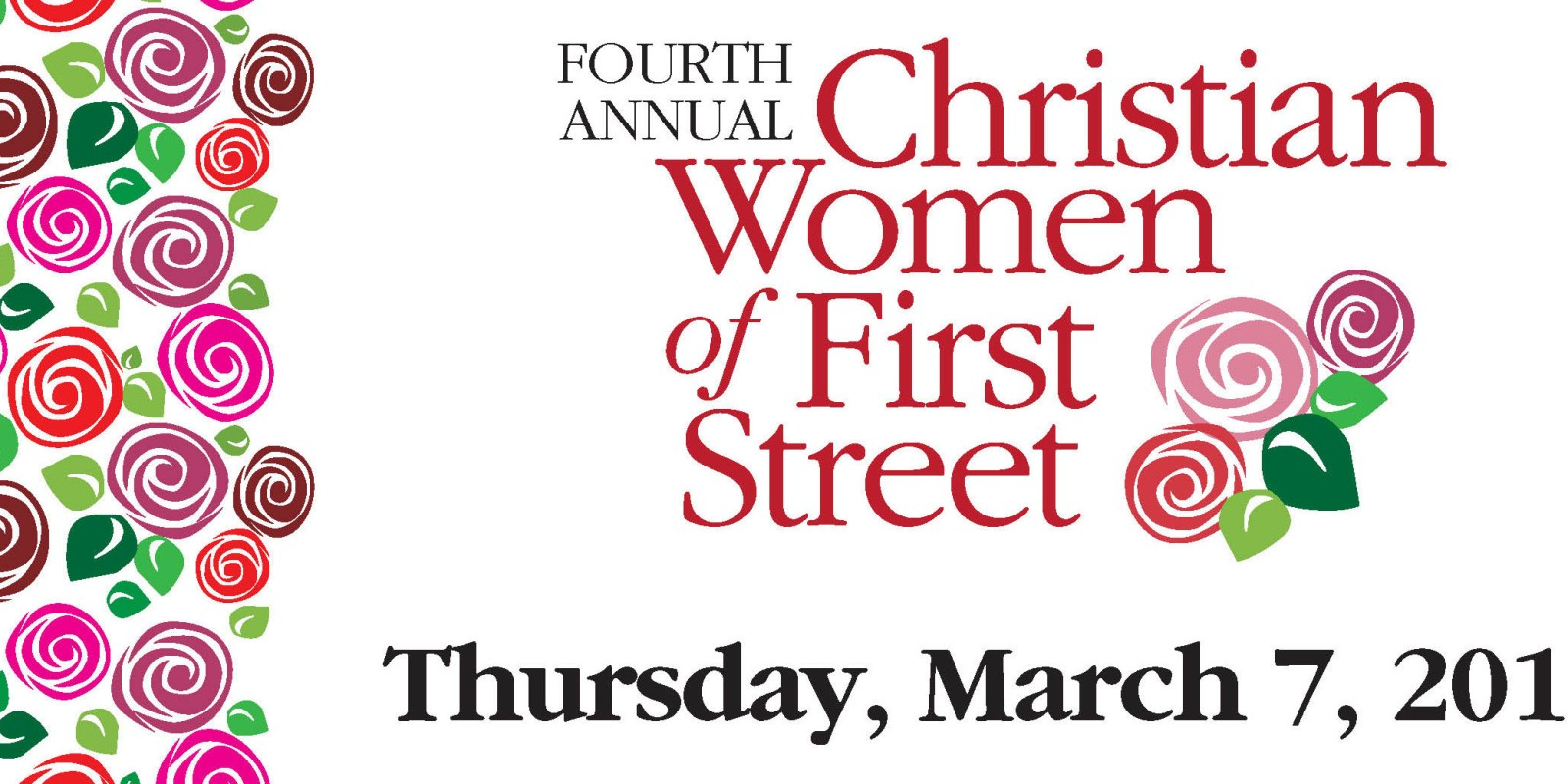 Join the ladies of First St. in prayer