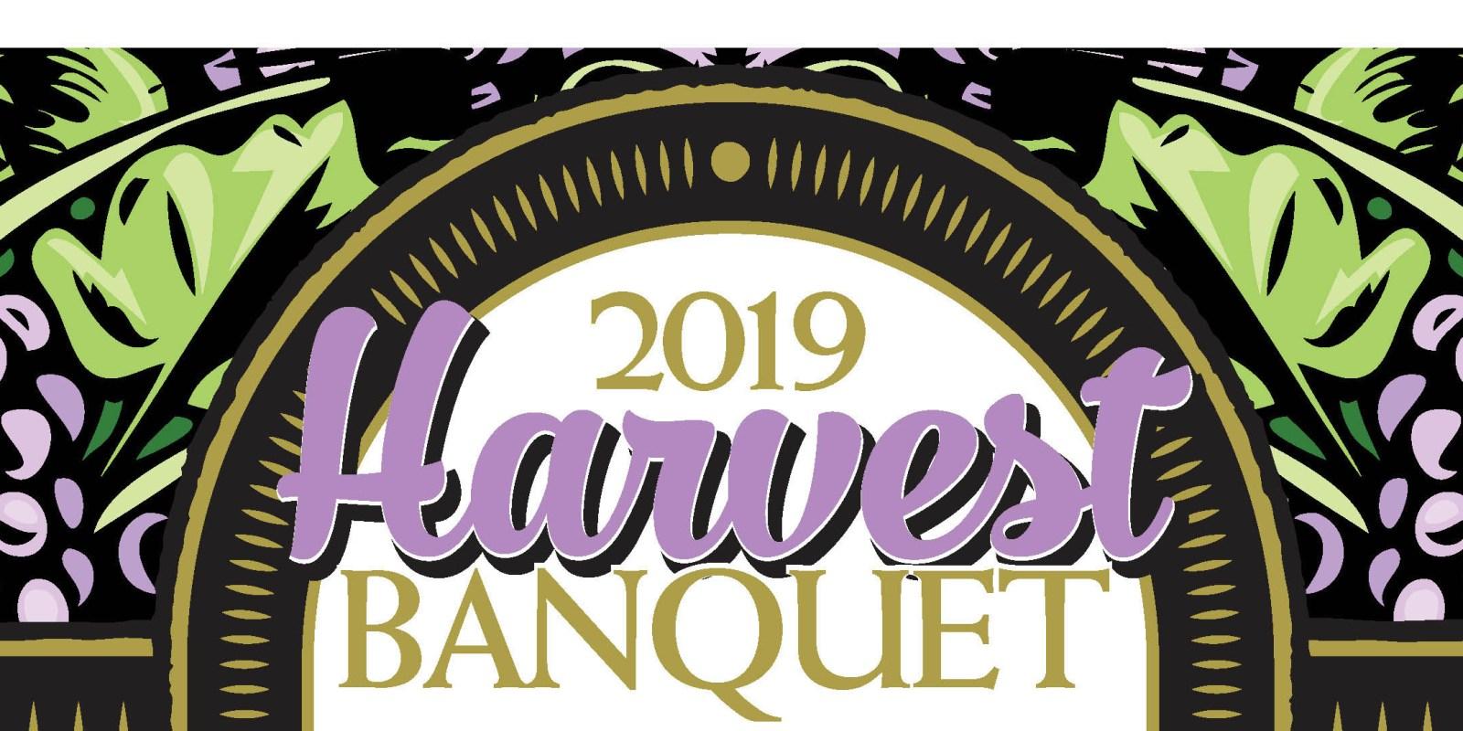Harvest Banquet, Saturday October 19