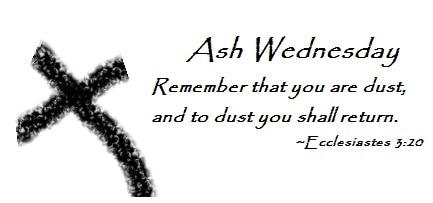 ash wednesday 2018 # 35