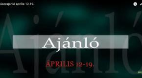 Műsoraink április 12-19.