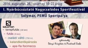 Nagycsaládos Sportfesztivál Solymáron