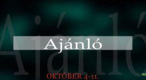 Műsoraink október 4 – 11.