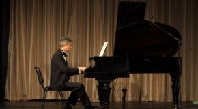 Berchy József zongoraestje