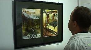 Papageorgiu Andrea festménykiállítása