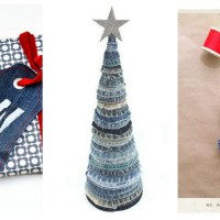 Denim Christmas Decorations - Favourite 5