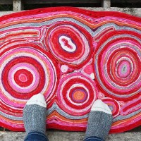 How to Make a Felt Rug Out of Recycled Sweaters