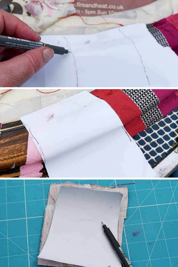 How To Make An Easy Mod Podge Fabric Mirror Frame  Pillar