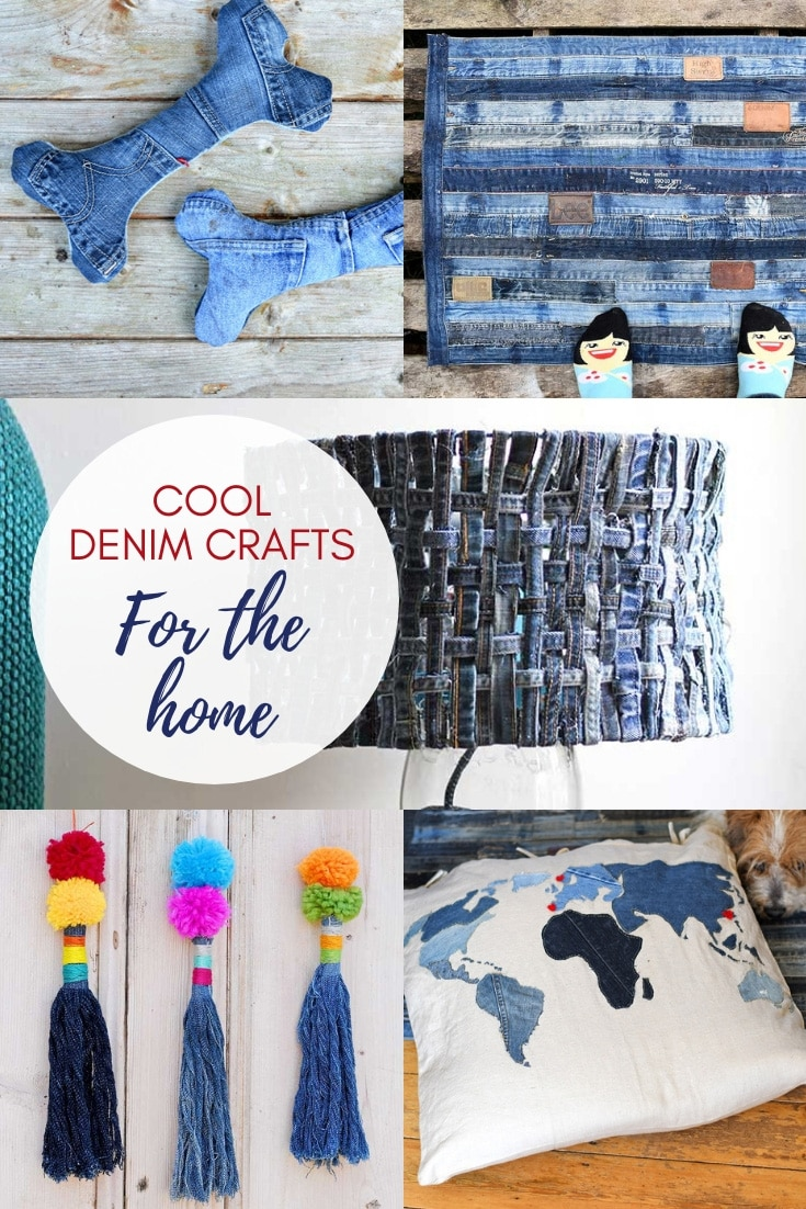 Upcycled Blue Jeans Ideas  Easy Craft Ideas
