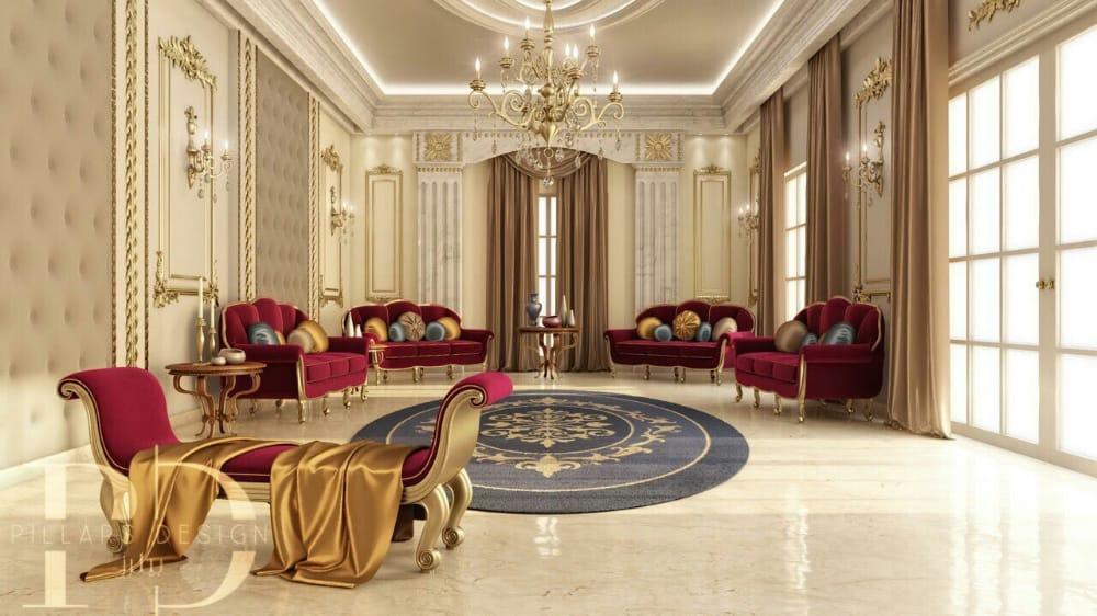 Interior Design Villas in Dubai, Luxurious Villa Design