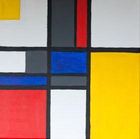 D'après Mondrian