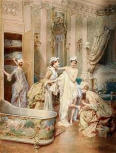 Il bagno di Maria Antonietta
