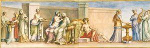 Nozze Aldobrandini, I secolo d.C.