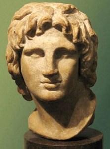 Busto de Alejandro Magno