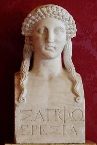 Bust Sappho (Museus Capitolinos)