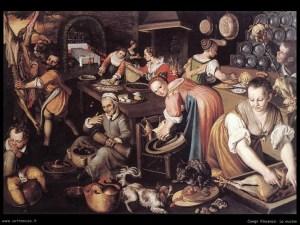 """La cucina"" Vincenzo Campi (1508 circa)"
