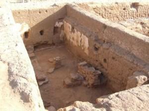 Resti della scuola trovata in Egitto (Foto: Eugene Palla)