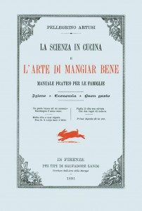 "Prima edizione di ""La scienza in cucina e l'arte di mangiar bene"" (1891) Pellegrino Artusi"