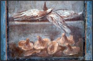 Alcuni cibi dell'Antica Roma, tra cui i funghi, cibi afrodisiaci