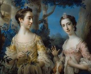 La bellezza femminile nel '700 dipendeva in gran parte da una pelle diafana e curata