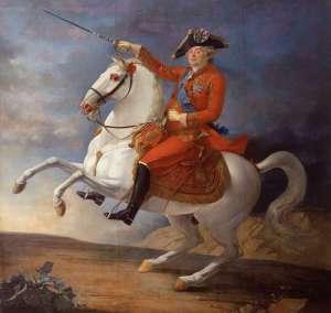 Ritratto equestre di Luigi XVI