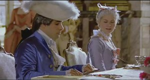 Louis XVI table (from the film Marie Antoinette). The king had a formidable appetite