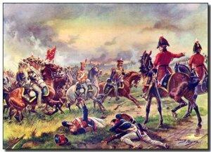 La Battaglia di Waterloo. I guanti indossati da Napoleone durante quell'evento, sono oggi conservati a Milano