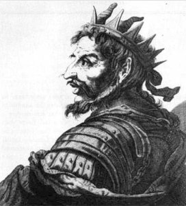 mesmo Attila, mítico rei dos hunos, Ele era um homem baixo