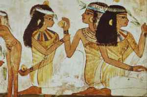 Egyptian Women. Their wrinkle consisted based on natural ingredients prepared