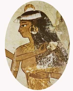 Beleza das mulheres egípcias