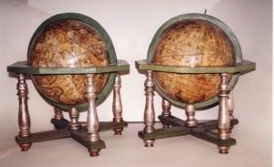 Globes' 700 in Versailles gespeichert. La geografia era una grande passione di Luigi XVI