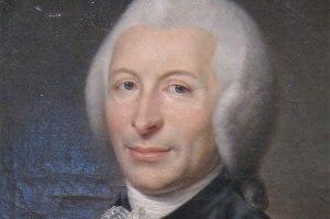 A portrait of Dr. Joseph-Ignace Guillotin