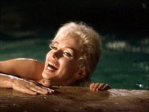 Marilyn Monroe en una famosa escena