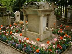 Parmentier Grab auf dem Friedhof Père-Lachaise