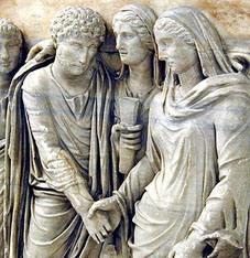 Matrimonio In Roma Antica : Matrimonio nell antica roma le parole della sposa