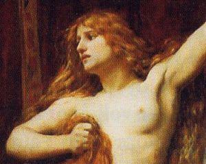 Hipatia de Alejandría en una pintura