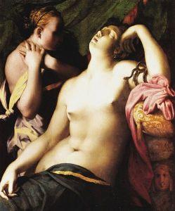 La morte di Cleopatra secondo Rosso fiorentino