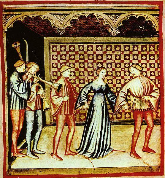 danza nel Medioevo