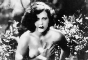 Hedy Lamarr in the first nude scene in the Cinema, in the movie & quot; Ecstasy""