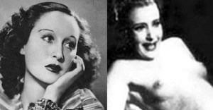 The actresses and rivals Doris Duranti and Clara Calamai