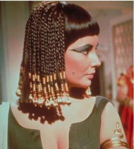 """Liz Taylor nel film """"Cleopatra"""""""