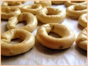 "I ""taralli"" o ""anneaux"", biscoitos Galli"