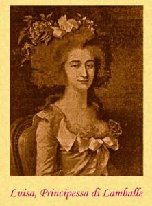 Portrait of the Princess Lamballe