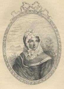 Madame Campan. la mujer, en sus memorias, sello francés describe en detalle algunas exageraciones, rigidez incluso en la forma de poner el camisón