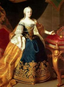 Retrato de la emperatriz María Teresa de Austria