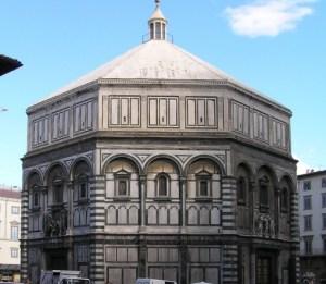 O Baptistry em Florença